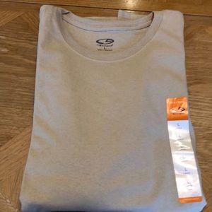 Men's beige color size large t-shirt NWT!